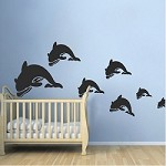 Dolphin Wall Decal Stickers