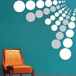 Dot Evolution Wall Decals