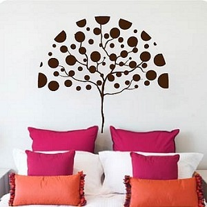 Dot ...Dot...Tree Wall Decal