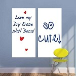 Rectangular Dry Erase Wall Decal