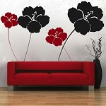 Cool Flower Wall Decals
