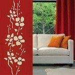 Trendy Adornment Flower Wall Decals
