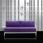Tall Bamboo Wall Decals