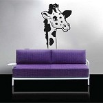 Hello Giraffe Wall Decal