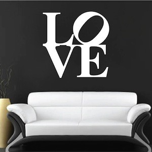 Love Square Wall Decal