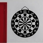 Dart Board Decal