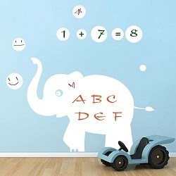 Elephant Dry Erase Wall Decal