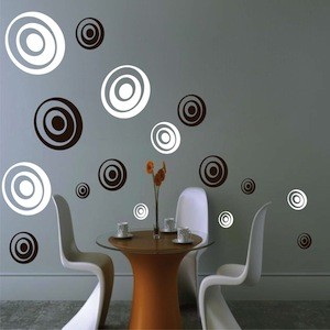 Depth Rings Wall Decals