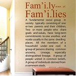 Family Definition Wall Decal Quote