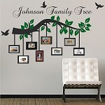 Customizable Picture Frame Branch Wall Decal