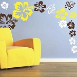 Hibiscus Flowers Wall Decals