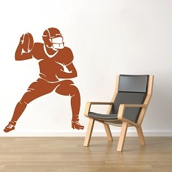Football Player Wall Mural