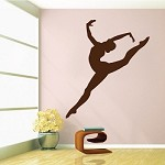 Gymnastics Girl Wall Decal