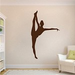 Gymnastics Girl Wall Mural