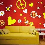 Hippie Kit Wall Decals