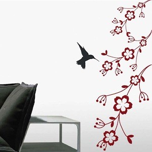 wall art design decals wall art design wall decal art black white circle pattern hummingbird feeder - Wall Art Design Decals