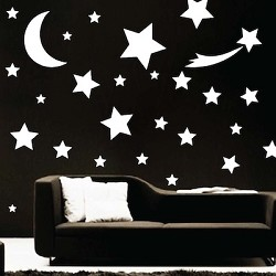 Shooting Star Wall Art Design