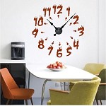 Fire Clock Wall Decal