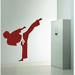 Kung Fu Wall Decal