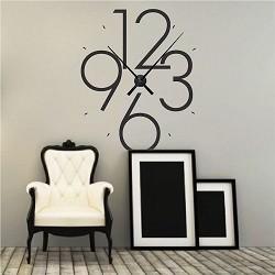 Clock Wall Decals Vinyl Clock Decals Trendy Wall Designs - Wall decals clock