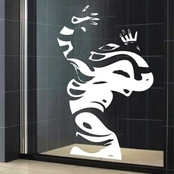 Abstract Woman Wall Decal