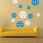 Modern Polka Dot Dots Wall Designs