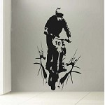 Customizable Dirt Bike Decal