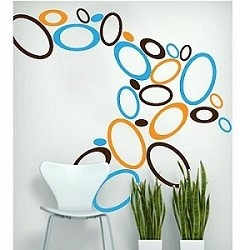 Oval Wall Decals