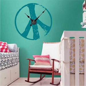 Peace Sign Clock Design