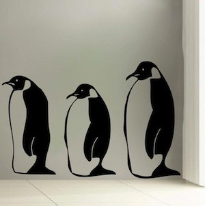 Penguin Wall Decals