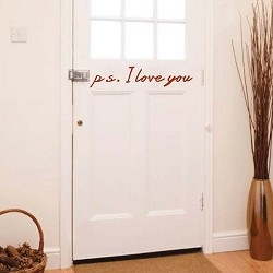 p.s. I Love You Wall Design
