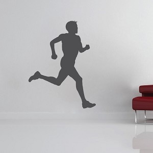 Runner Dude Wall Decal