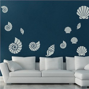 Seashell Wall Art Decals