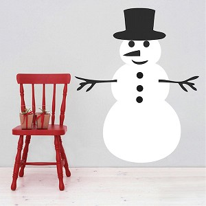 DIY Snowman Decal Design