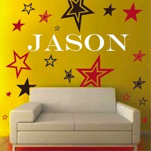 Rock Stars Wall Decals