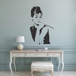Audrey Hepburn Wall Decal