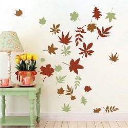Autumn Leaves Wall and Window Decals