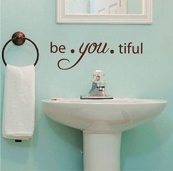 Be You Tiful Wall Quote Decal