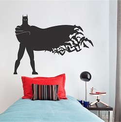 Standing Hero Wall Decal