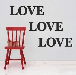 Love Wall Decals
