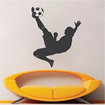 Soccer Player Wall Art Design