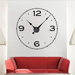 Simple Clock Decal