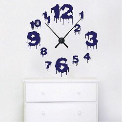 Dripping Clock Wall Decal