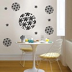 Flora Sphere Wall Decal