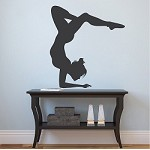 Gymnastics Girl Wall Sticker