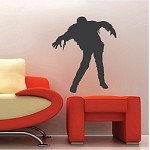 Halloween Zombie Decal Mural