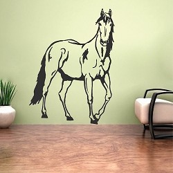 Standing Horse Wall Decal