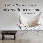Scripture Vinyl Wall Quote Decal