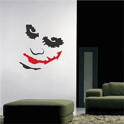 Joker Decal Sticker Mural