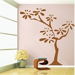 Flower Tree Wall Decal